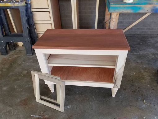 Custom Made Media Cabinet And Coffe Table Set