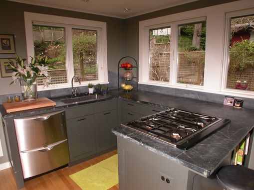 Custom Made Painted Garden Kitchen
