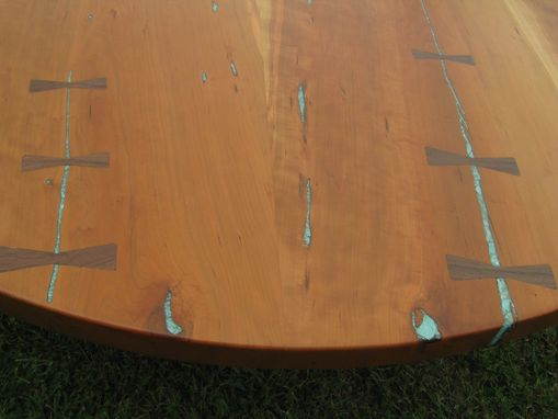 Custom Made Round Cherry Dining Table