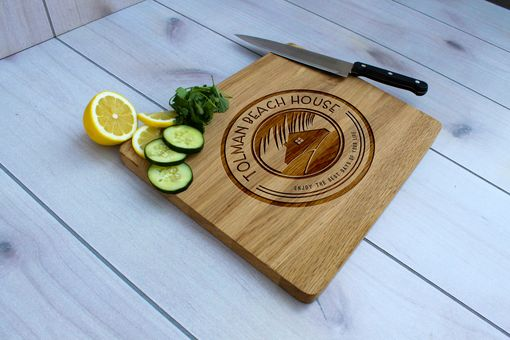 Custom Made Personalized Cutting Board, Engraved Cutting Board, Custom Wedding Gift – Cb-Wo- Tolman Beachhouse