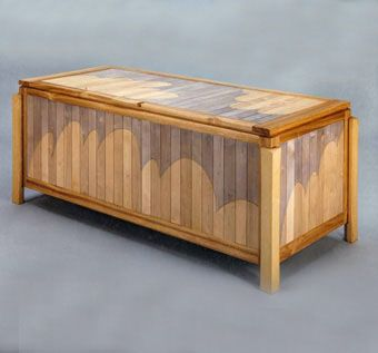 Custom Made Cloud Chest