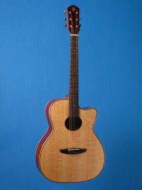Custom Made Eclipse Style-F Acoustic Guitar