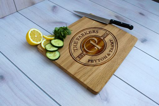Custom Made Personalized Cutting Board, Engraved Cutting Board, Custom Wedding Gift – Cb-Wo-Parkers