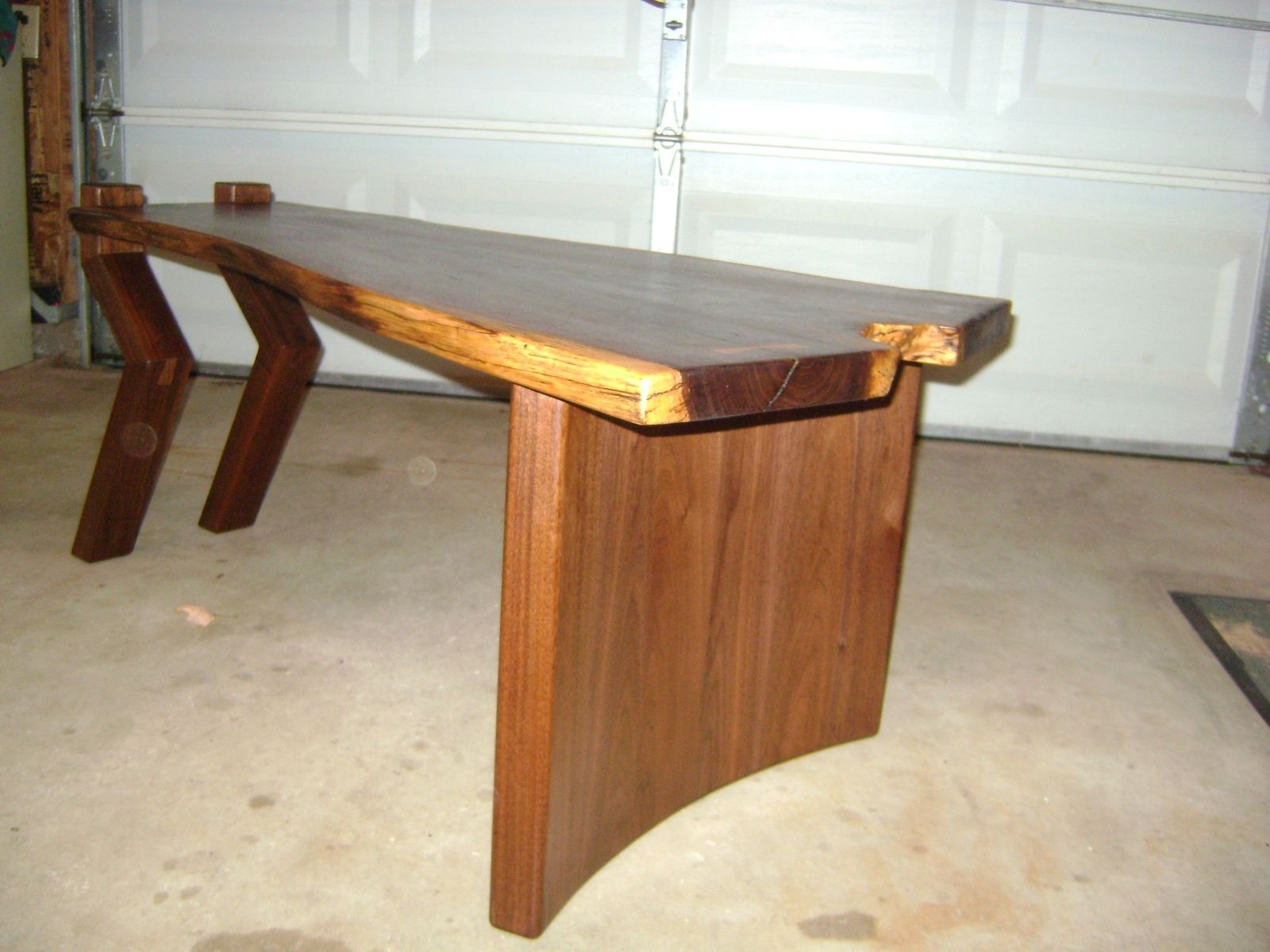 Hand Crafted Nakashima Inspired Coffee Table by Z & Z Custom
