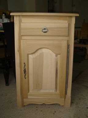 Custom Made Free Standing Cabinet