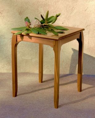 Custom Made End Or Side Table, Art Deco/Modern Design