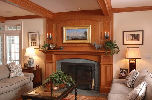 Custom Made Custom Traditional Mantle
