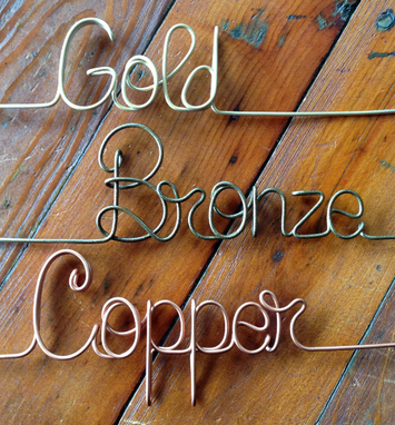 Custom Made Swept Away Bride And Groom Metal Couple Cake Topper
