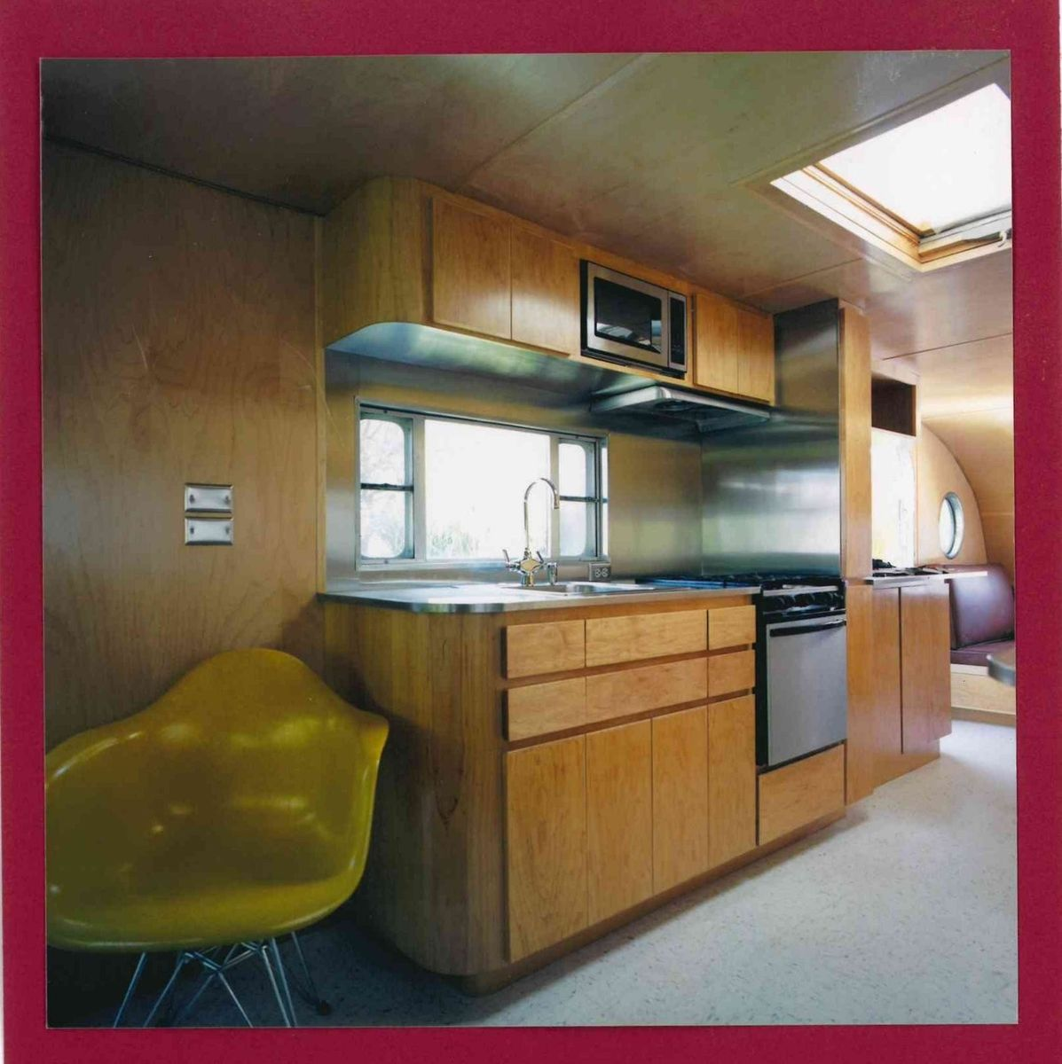 Handmade Custom Teardrop Trailer Interior Wood Trim And Cabinetry by Neely Custom Woodworking ...