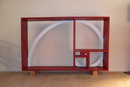 Custom Made Fibonacci's Bookshelf
