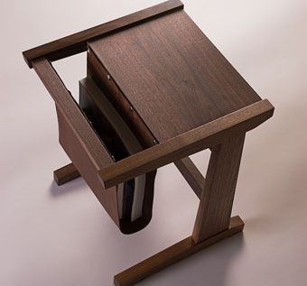 Custom Made Sling Side Table
