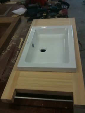 Custom Made Minimal Sink Bases
