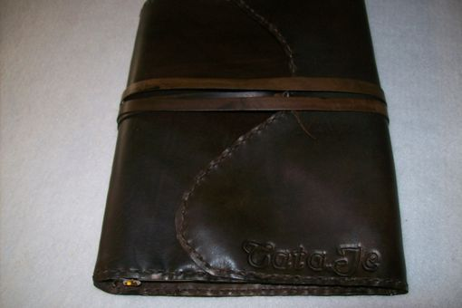 Custom Made Custom Leather Planner