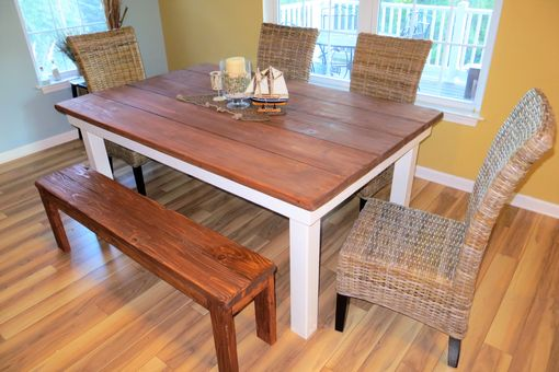 Custom Made Rustic Farmhouse Dining Tables