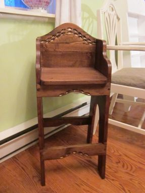 Custom Made High Chair For Older Children