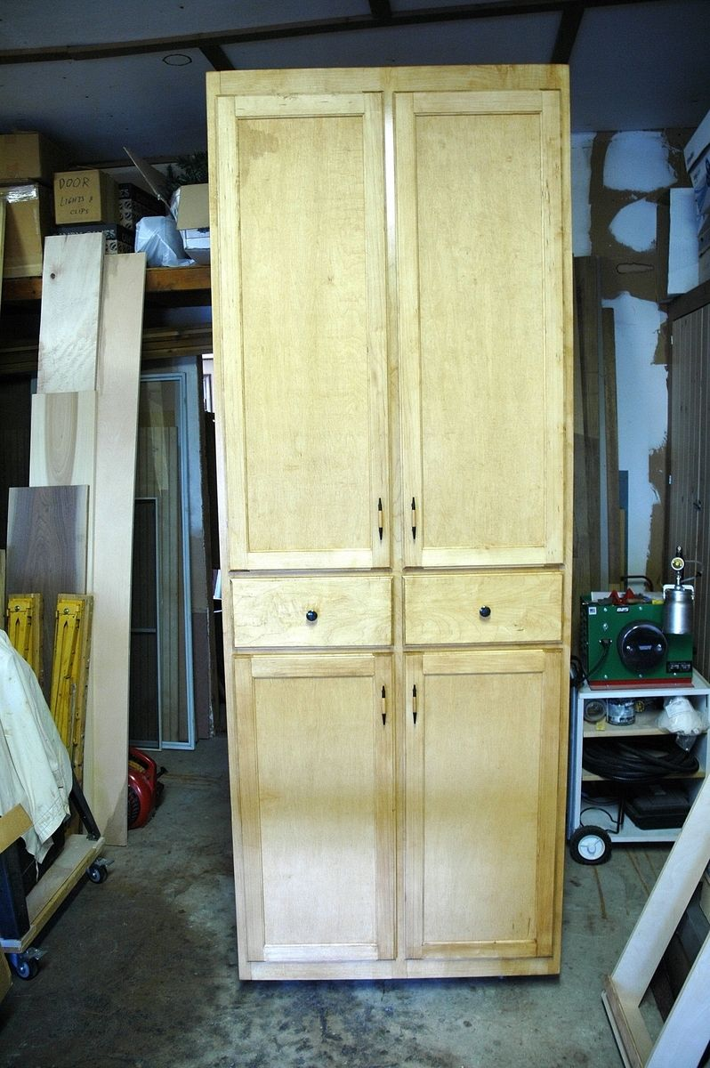 Handmade Custom Pantry And Doors By Wooden It Be Nice