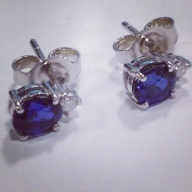 Custom Made Custommade Sapphire Earrings