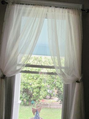 Custom Made Living Room And Dining Room Curtains