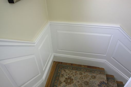 Custom Made Raised Panel Wainscoting 1