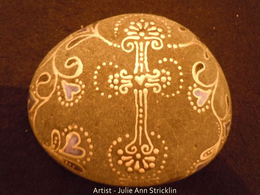 Custom Made One Of A Kind Embellished Meditation Rocks. Created By Nature And Hand Embellished By Me!