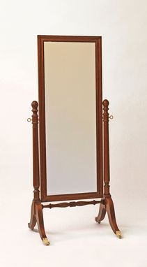 Custom Made Cheval Dressing Mirror