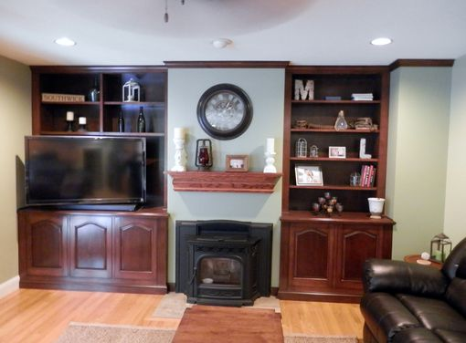 Custom Made Fireside Built-Ins