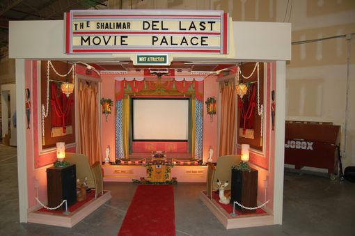 Custom Made Shalimar Theater Traveling Exhibit