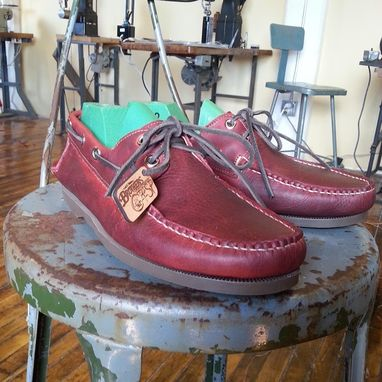Custom Made Grape Boat Shoe
