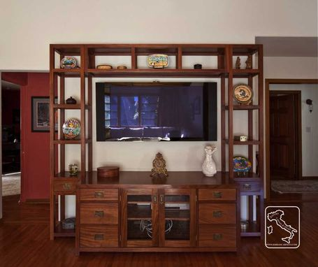 Custom Made Open Wall Unit