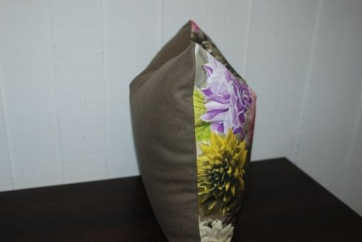 Custom Made Designers Guild Floral Pillow Cover
