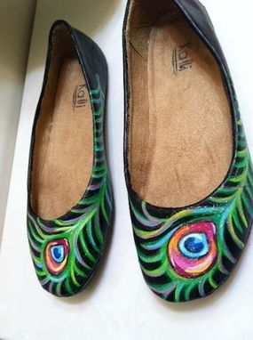 Custom Made Peacock Shoes
