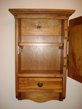 Custom Made Judy, The Small Wood Cupboard Cabinet
