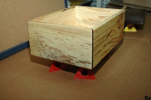 Custom Made Large Spalted Maple Box
