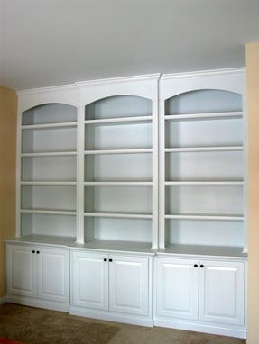 Custom Made Built-In Office Bookcases