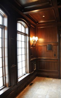 Hand Crafted Wood Wall Paneling By Yoder Custom Design