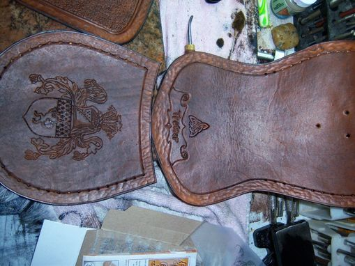 Custom Made Family Crest Sporran 1