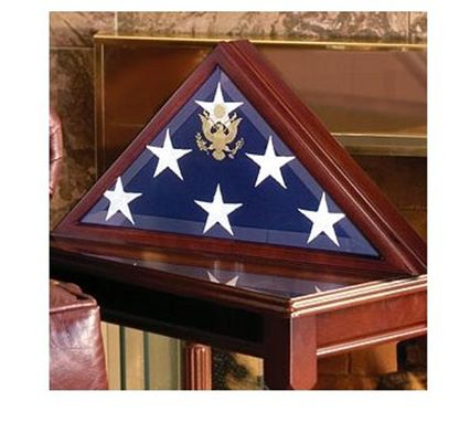 Custom Made Flag Display Cases