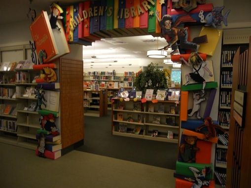 Custom Made Childrens Library Entrance