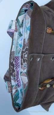 Custom Made Upcycled Leather Purses