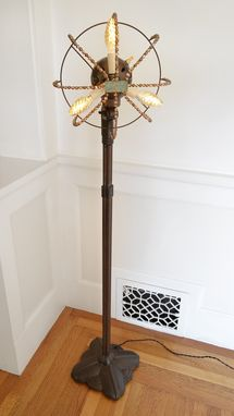 Custom Made Floor Fandango – Lamp Made From A Vintage Floor Fan