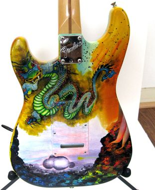 Custom Made Psychedelic Dragon