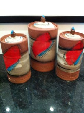 Custom Made kitchen cannister sets
