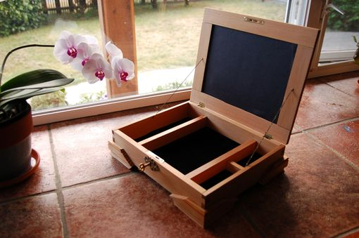 Custom Made Douglas Fir Jewellery Box