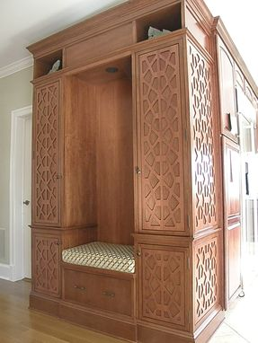 Custom Made Custom Storage Cabinet