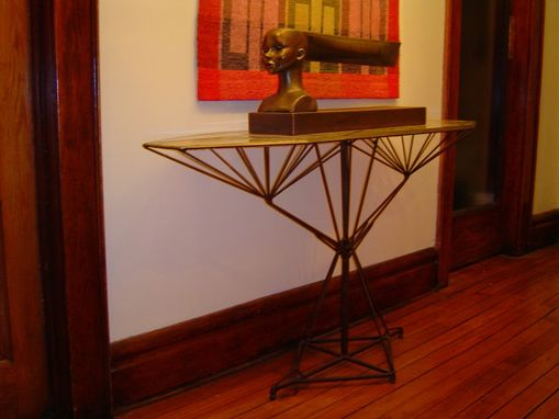 Custom Made Adjustable Steel Table
