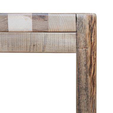 Custom Made Reclaimed Barn Wood Stool