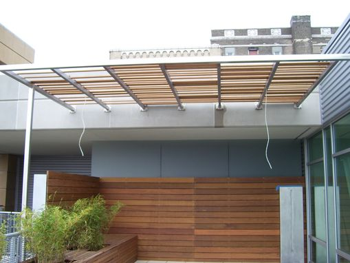 Custom Made Loft Patio Awning