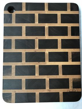 Custom Made End Grain Cutting Board / Serving Board (Brick Pattern)