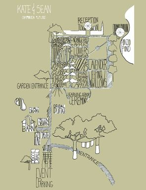 Custom Made Illustrated Map - Campovida