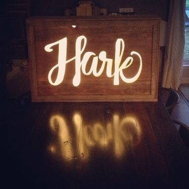Custom Made Light Boxes Or Lit Address Sign